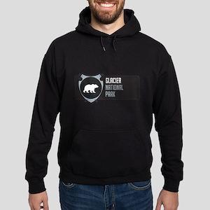 Glacier Arrowhead Badge Hoodie (dark)