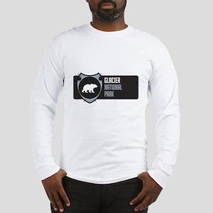 Glacier Arrowhead Badge Long Sleeve T-Shirt