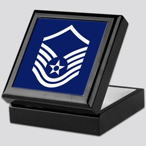 Master Sergeant<BR> Tile Insignia Box