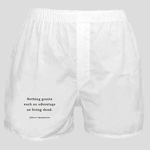 Death's Advantage (English) Boxer Shorts