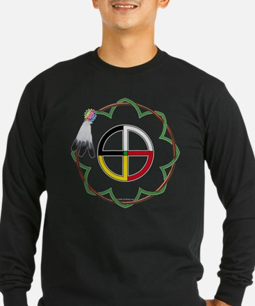 NAB-sioux4dirwfrmTS-1 Long Sleeve T-Shirt