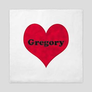 Gregory Leather Heart Queen Duvet