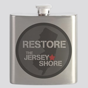 Restore The Jersey Shore Flask