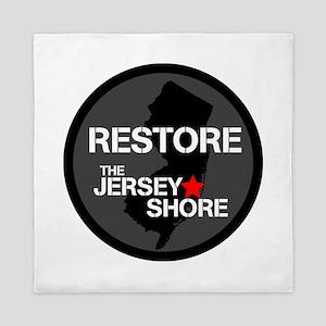 Restore The Jersey Shore Queen Duvet