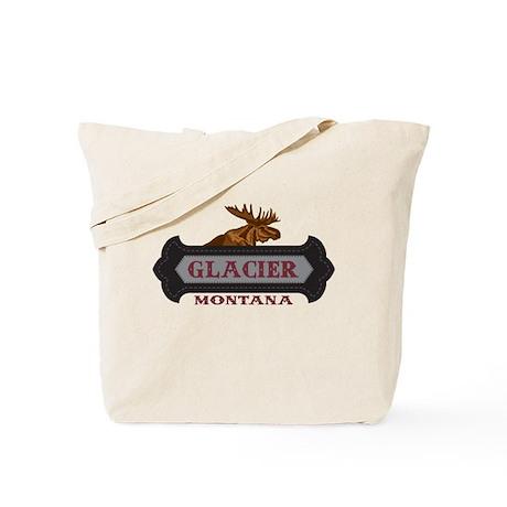 Glacier Fleur de Moose Tote Bag