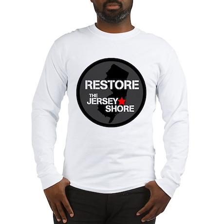 Restore The Jersey Shore Long Sleeve T-Shirt