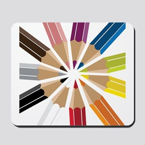 Colored Pencils Mousepad