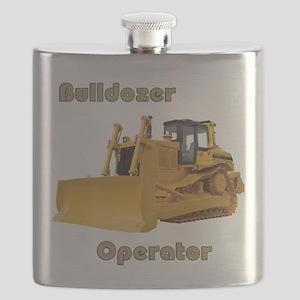 Bulldozer Operator Flask