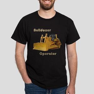 Bulldozer Operator Dark T-Shirt