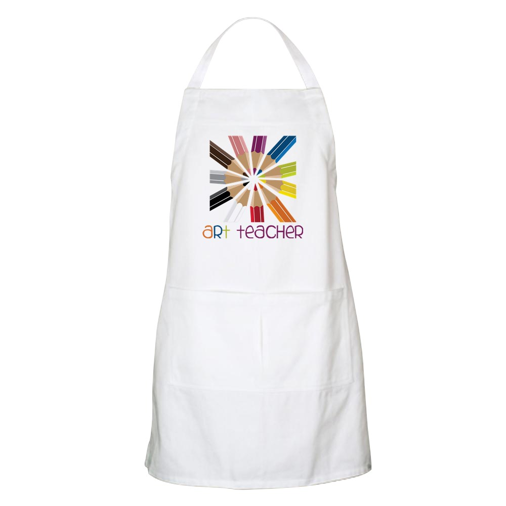 CafePress - Art Teacher Apron - Full Length Cooking Apron
