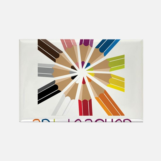 Art Teacher Rectangle Magnet