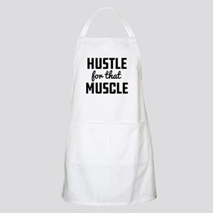 Hustle For That Muscle Light Apron
