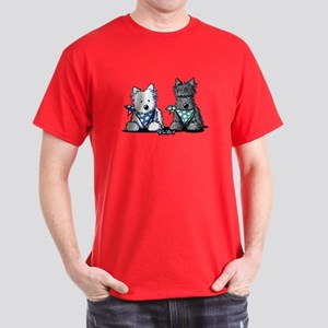 KiniArt™ Terrier Twosome Dark T-Shirt