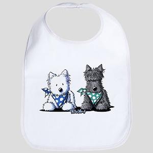 KiniArt™ Terrier Twosome Bib