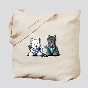 KiniArt™ Terrier Twosome Tote Bag