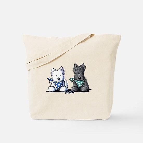 KiniArt™ Terrier Twosome Tote Bag