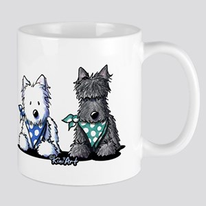 KiniArt™ Terrier Twosome Mug
