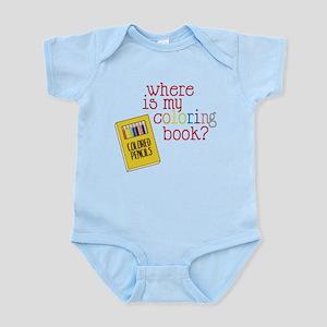 Coloring Book Infant Bodysuit
