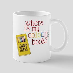 Coloring Book Mug