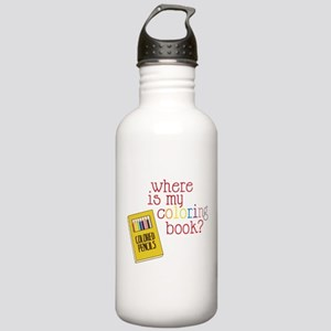 Coloring Book Stainless Water Bottle 1.0L