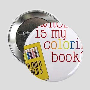 """Coloring Book 2.25"""" Button"""