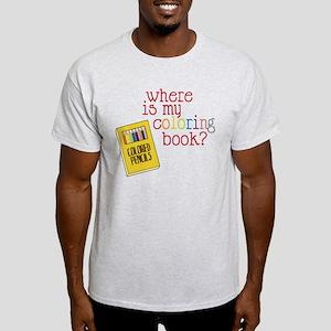 Coloring Book Light T-Shirt