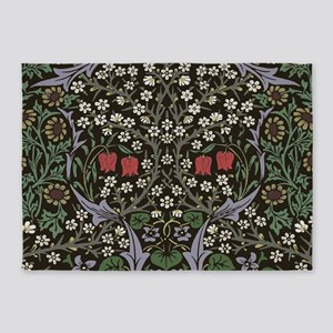 William Morris Art Print Blackthorn 5'x7'Area Rug
