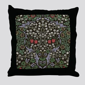 William Morris Art Print Blackthorn P Throw Pillow