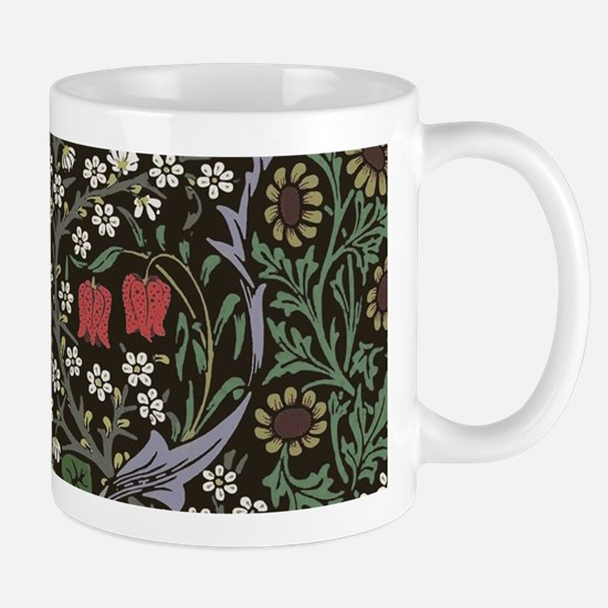 William Morris Art Print Blackthorn Pattern Mugs