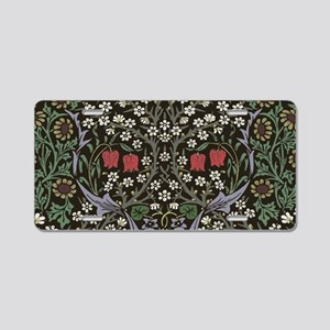 William Morris Art Print Bl Aluminum License Plate