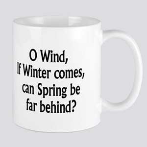 Shelley Winter and Spring Mugs