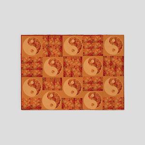 Yin and Yang 5'x7'Area Rug