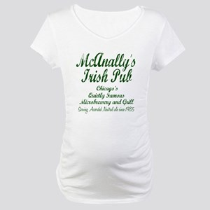 McAnally Irish Pub Maternity T-Shirt