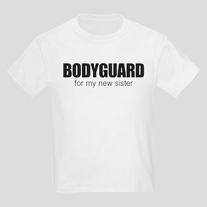 Bodyguard for my new sister Kids Light T-Shirt