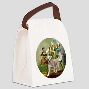 Spirit of 76 - Golden w-ball Canvas Lunch Bag