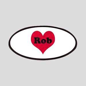 Rob Leather Heart Patch