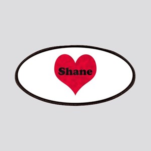 Shane Leather Heart Patch