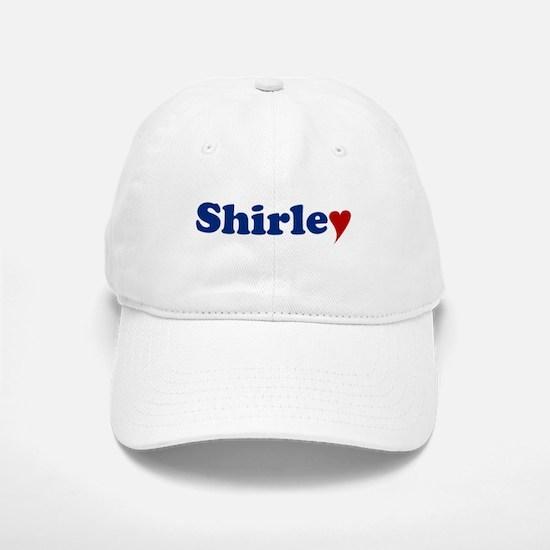 Shirley with Heart Baseball Baseball Cap