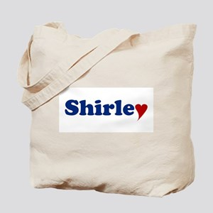 Shirley with Heart Tote Bag