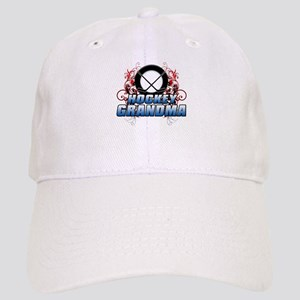 Hockey Grandma (cross) Cap