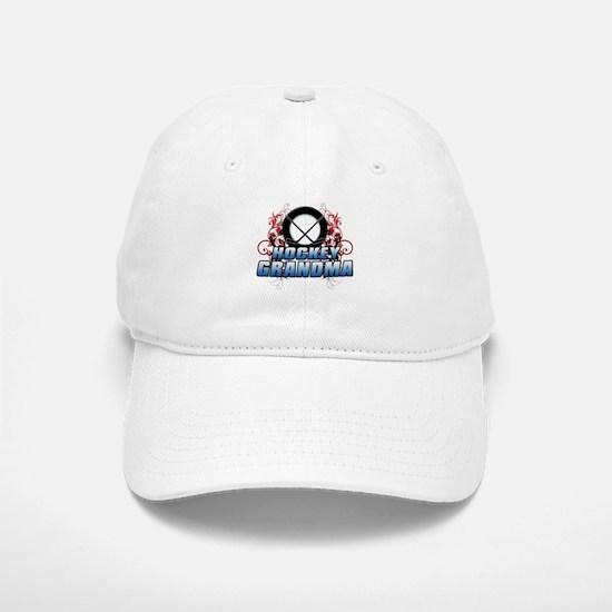 Hockey Grandma (cross).png Baseball Baseball Cap