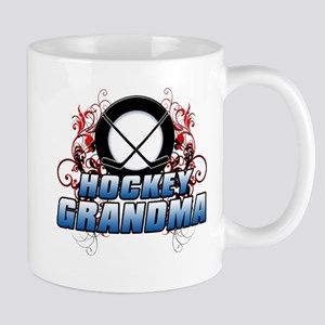 Hockey Grandma (cross) Mug