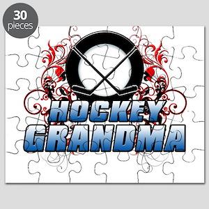 Hockey Grandma (cross) Puzzle
