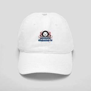 Hockey Grandpa (cross) Cap