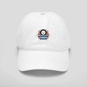 Hockey Dad (cross) copy Cap