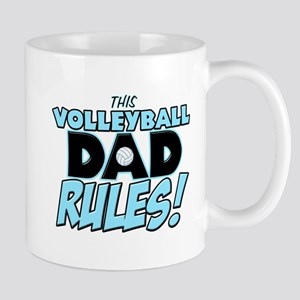 This Volleyball Dad Rules Mug