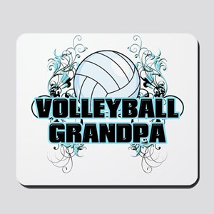 Volleyball Grandpa (cross) Mousepad