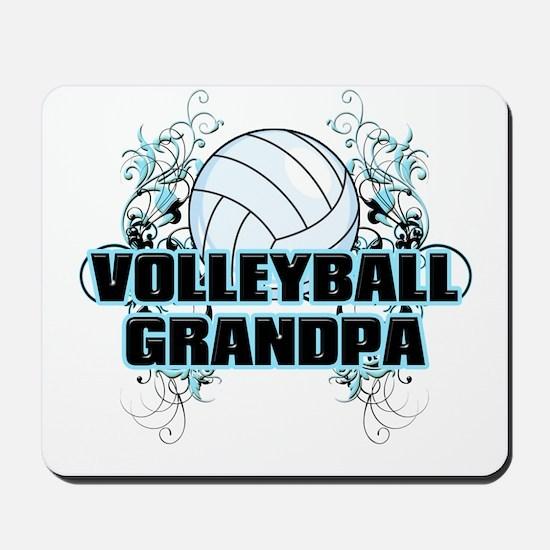 Volleyball Grandpa (cross).png Mousepad