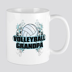 Volleyball Grandpa (cross) Mug
