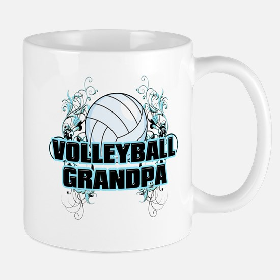 Volleyball Grandpa (cross).png Mug